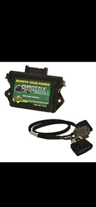 EcoDiesel throttle sensitivity booster with switch.
