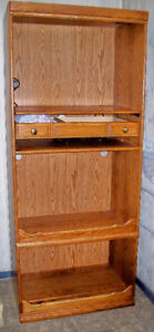 *** BOOKCASE *** type Unit with Plug In for TV set up