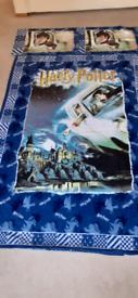 Rare Harry Potter Flying Car Bedding Set