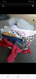 Bundle girls baby clothes 6-9 & 12-18 months