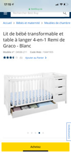 Bassinette/lit bebe neuf a vendre