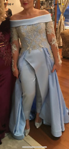 Elegant Couture Custom Made Evening Gown made in Lebanon