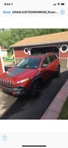 2016. Jeep Cherokee. Trailhawk
