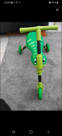 Scuttlebug ride on kids toy
