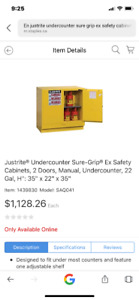 Justrite Safety Storage Cabinet