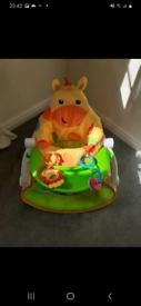 Fisher Price Baby Giraffe Seat