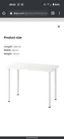 Ikea Linnmon/Adils desk 100cm×60cm