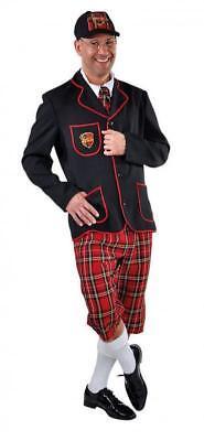 ool Uniform College Kostüm Anzug Herren Schüler Schülerin (Schüler Kostüm)