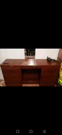 Wooden dressing table - spacious