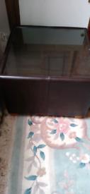 Ikea Faux leather coffee table