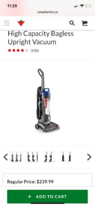 Hoover Windtunnel 2 High Capacity Stand Up Vacuum