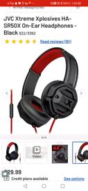 Headphones JVC used 2 times