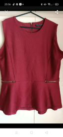 As New ladies top size 18