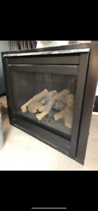 Direct vent natural gas fire place $500