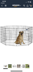 Puppy/Dog corral/exercise kennel