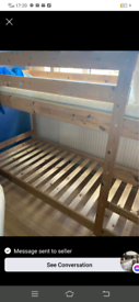 Wooden bunk bed in very good condition