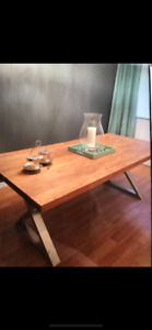 Wooden table from Artemano