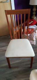 Morris of Glasgow dining chairs