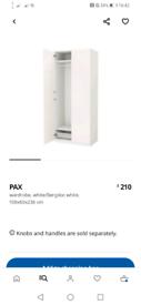 Wardrobe white Pax Ikea