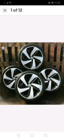 Alloy wheels & Tyres volkswagen Audi Seat Gti performance wheels 18''