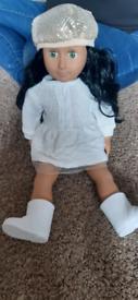 Designer friend doll pretty girl