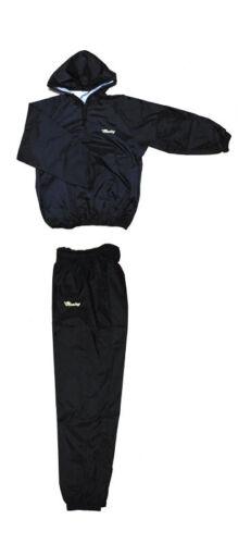 Winning Made in Japan Americaya Sauna Suit Prize fighter black x gold logo