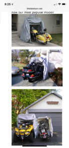 Bike Barn Cover - Touring Motorcycle