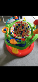 Activity station and walker