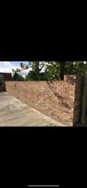 1000 reclaimed bricks