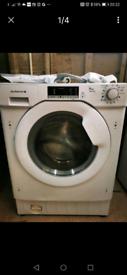 De dietrich DLZ814I white 8kg integrated washing machine,RRP £649