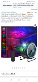 Galaxy light projector x
