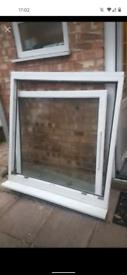 Large square uPVC window