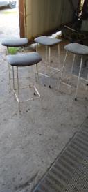 Vintage stools x4