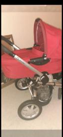 Quinny Buzz pram and free car seat