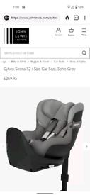Cybex Sirona S2 brand new kids car seat
