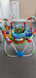 Baby jumpero, walker, tent, rocking horse, mat