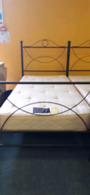 X1 single metal bed set