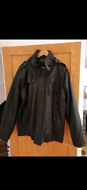 Black winter jacket £15