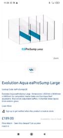 Aquarium Sump large Ea Pro sump