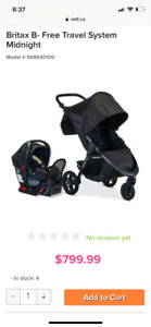 Britax Travel System - Excellent Condition