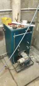 Oil burner and furnace