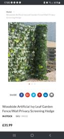 Brand New Woodside Ivy Leaf Screening
