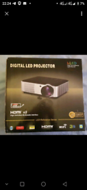 Hd Home Theater Projector 1280*800 Native Resolution,2800 lumens Suppo