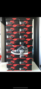 DS Air Jordan 1 Shadow 2018 sizes 8-13 w/ Receipt