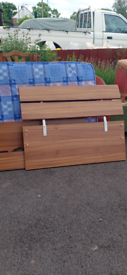 Beautiful Brend new single bed with mattress