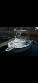 Angler 21 fast Fisher fishing boat