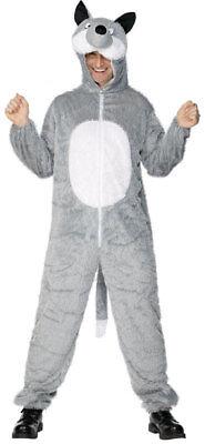 Wolfkostüm Wolf Zoo Karneval Kostüm Tierkostüm