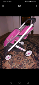 Quinny double pushchair & car seat