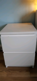 ● IKEA ● MALM CHEST OF 2 DRAWERS ●