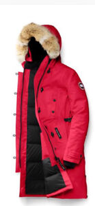 Kennington Canada goose xs red,like brand new,worn aprox 3times!